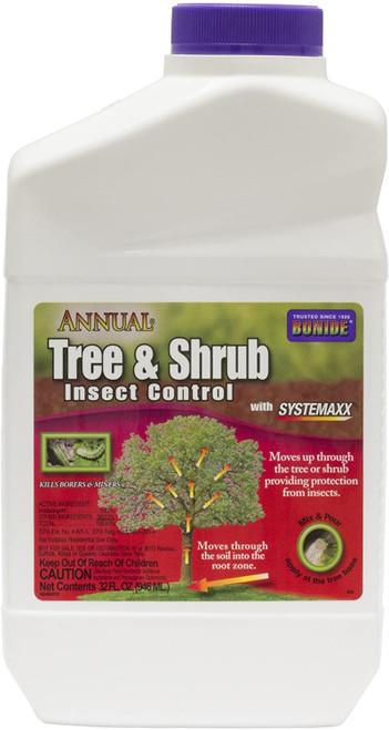 Annual Tree & Shrub Insect Control Quart