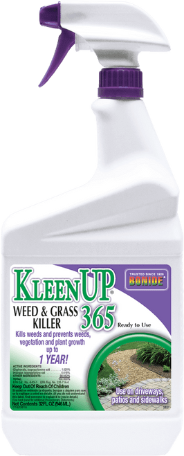 Kleenup 365 Grass & Weed Killer Ready-to-Use Quart