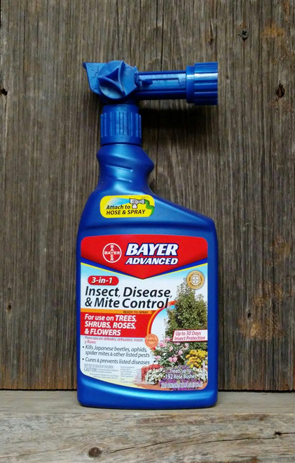 3-In-1 Insect Disease & Mite Control Ready-to-Spray 32oz