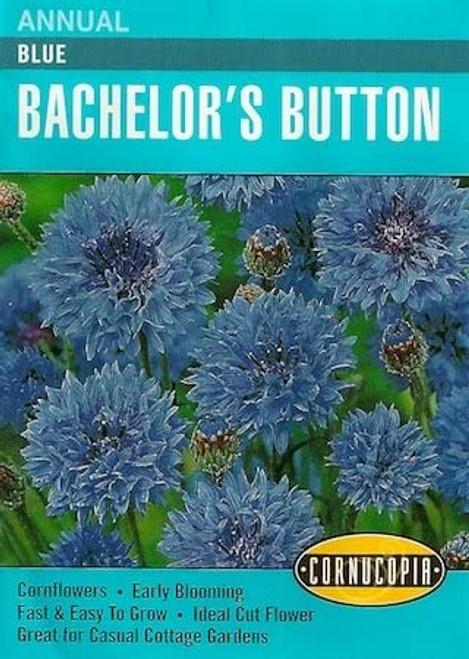 Bachelor's Button Blue