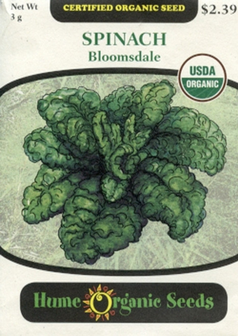 Bloomsdale Spinach (Organic)