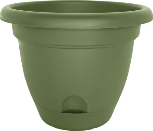 """10"""" Lucca Planter Living Green"""