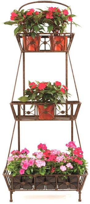3 Basket Floor Planter