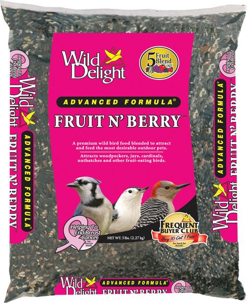 Fruit & Berry Bird Food 5#