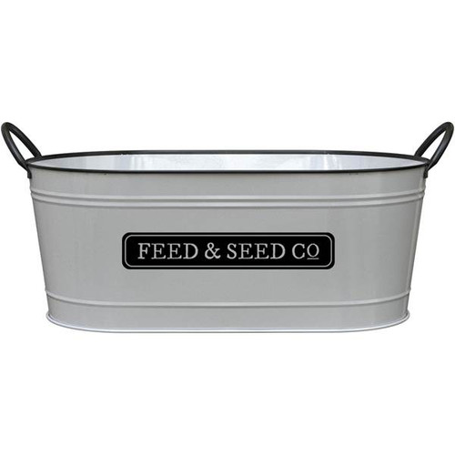 """16"""" Milkhouse Oval Feed & Seed Planter"""