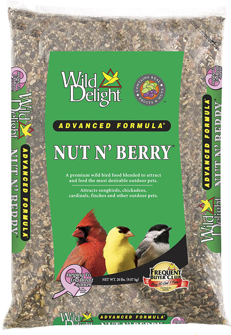 Nut & Berry Bird Food 20#
