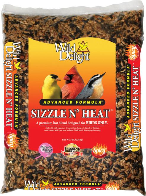 Sizzle 'N Heat Bird Food 5#