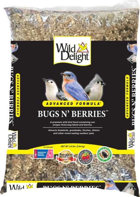 Bugs & Berries Bird Food 4.5#