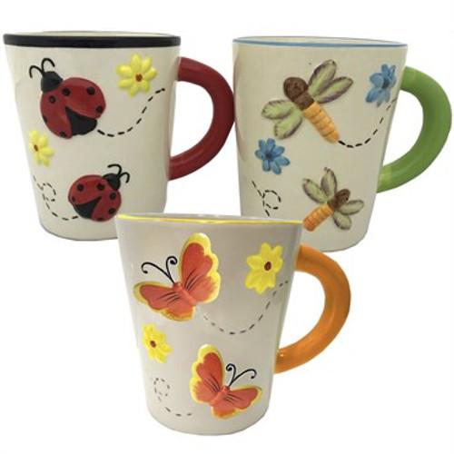 Ceramic Pottery - Bug Mug