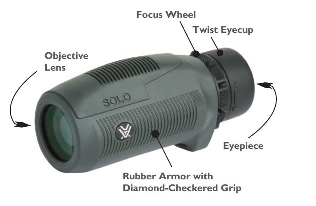 Monocular Vortex Solo 10X25, Waterproof