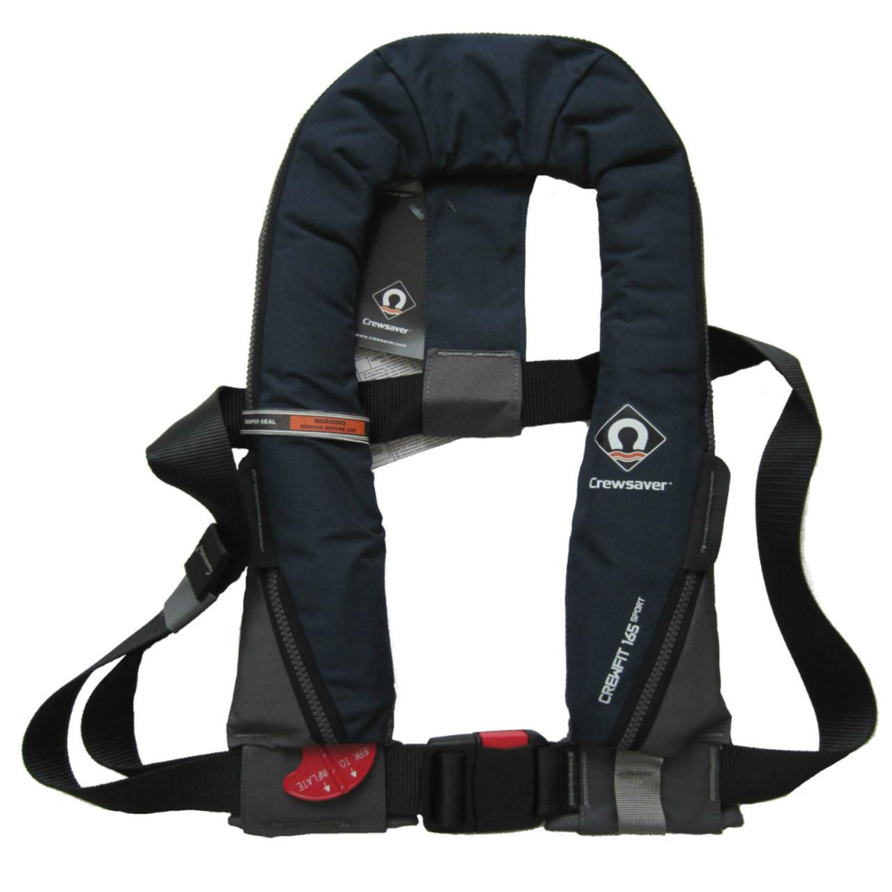 Crewsaver Crewfit Manual 165N Navy Blue Sport Inflatable