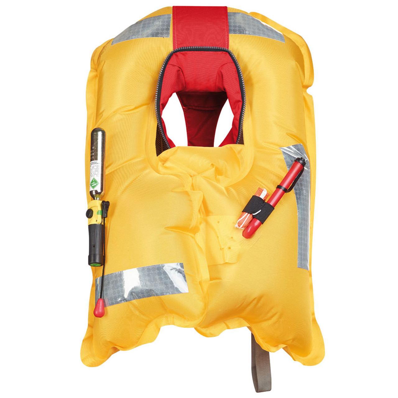 Crewsaver Crewfit Red Manual Inflatable Lifejacket with Harness attachment loop.