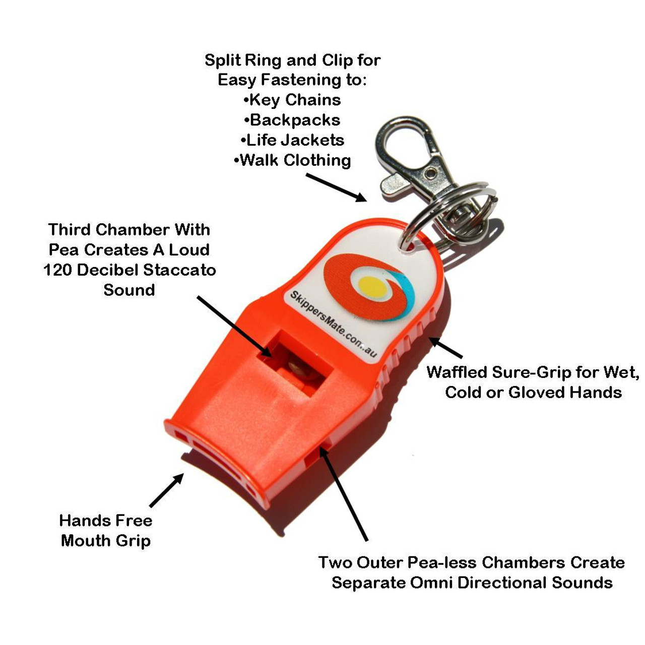 If you can be Heard, you can be Rescued. Sound is the #1 factor in deterring crime and finding lost victims. When you are injured, cold, lost and tired, shouting can leave you hoarse and exhausted in a matter of minutes. However, if you can breathe, you can easily blow this Safety Whistle and be found by Rescue Personnel.