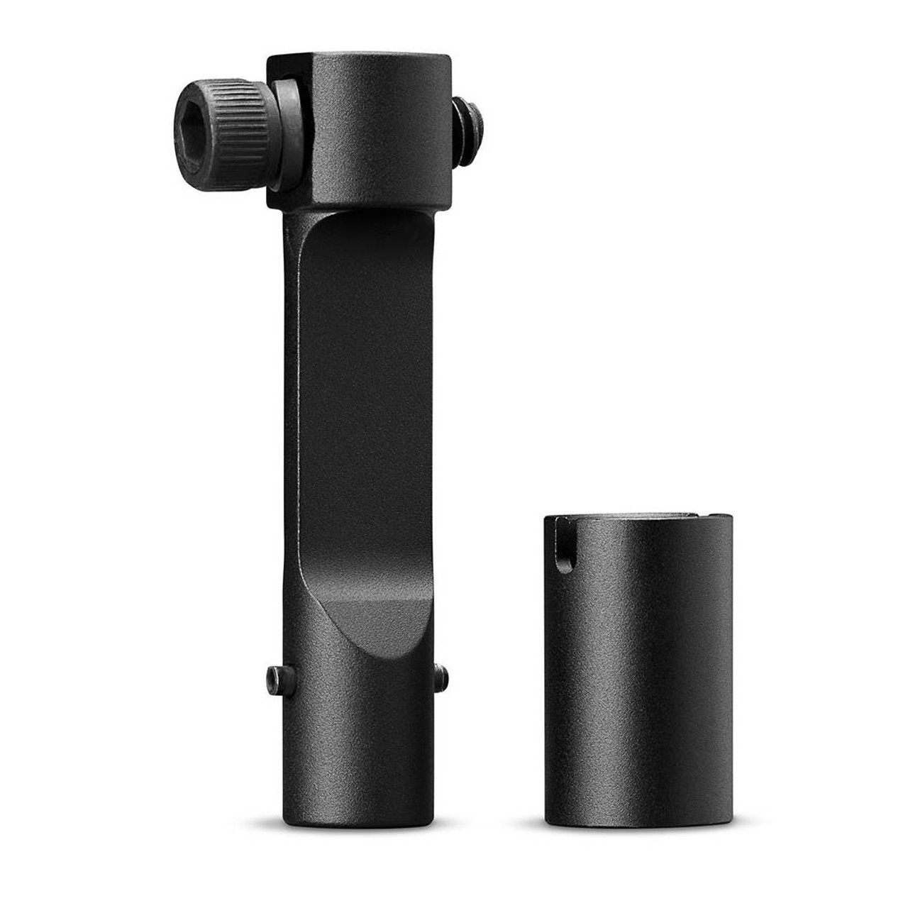 """The Sport Binocular Adapter is precision machined and fits any tripod-adaptable binocular and tripod with a 1/4""""-20 socket/thread."""
