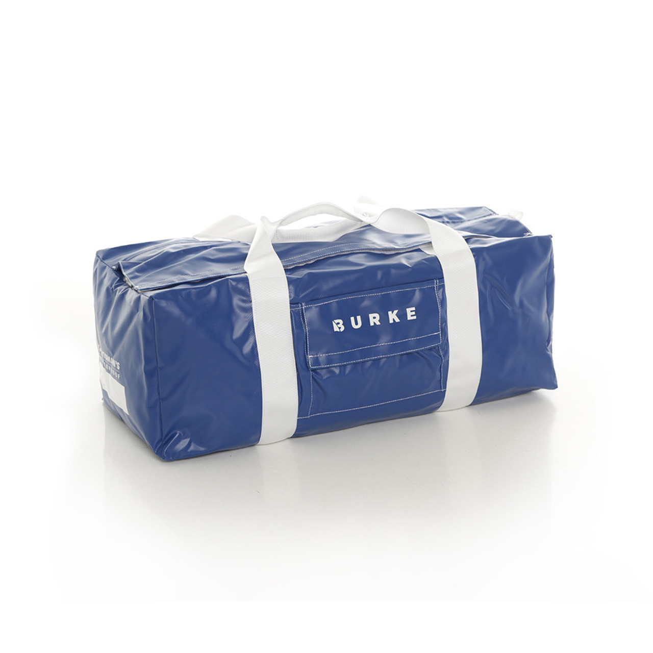 Burke small yachtsmans waterproof blue gear bag has been developed for sailing performance as a premium.