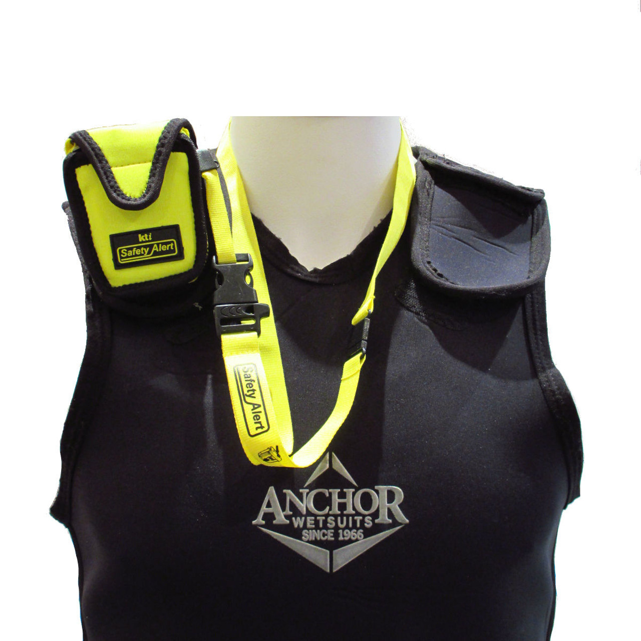 KTI Safety Alert Marine Pouch is designed to suit the SA2G & SA2GN Personal Locator Beacon attached to your wet-suit.