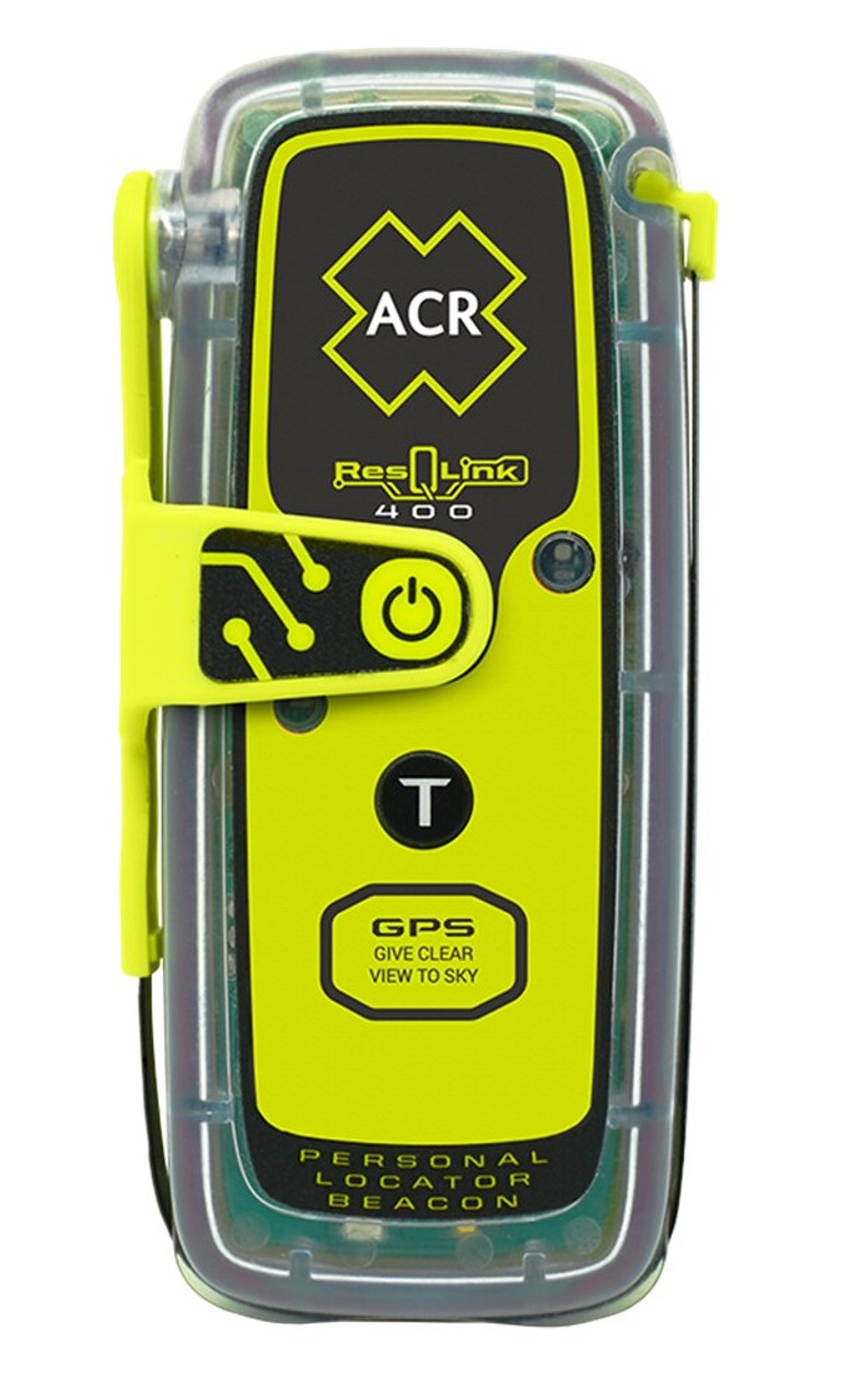 ACR ResQLink 400 NZ Personal Locator Safety Beacon - PLB