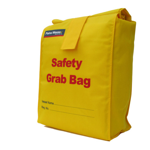 Grab Bag 10L Safety Yellow Buoyant Splash-proof Storage