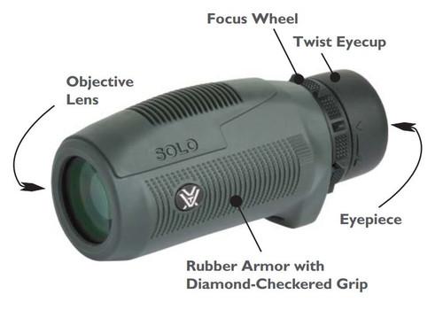 Monocular Vortex Solo 8x25, Waterproof