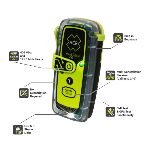 ACR ResQLink 400 NZ Personal Locator Beacon (PLB)
