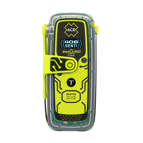 ACR ResQLink  425 View Locator Beacon with Digital Display Survival Kit