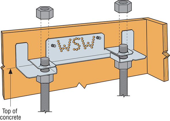 Simpson WSW Anchor Bolt Template Panel Form