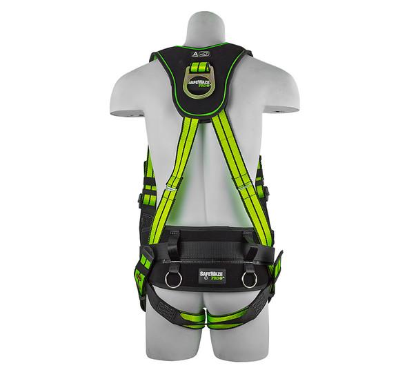 SafeWaze Flex Construction Harness - Large Back