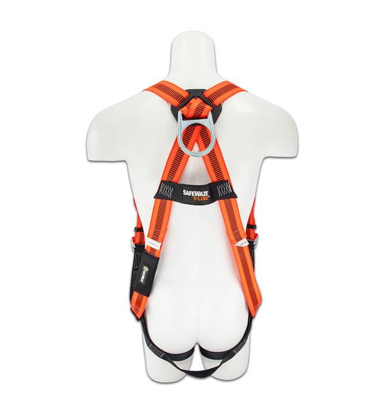 SafeWaze V-LINE Harness with Grommet Legs Rear