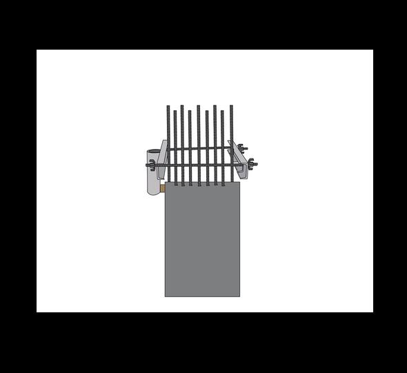 SafeWaze SafeLink Form Link Anchor On Rebar Cage
