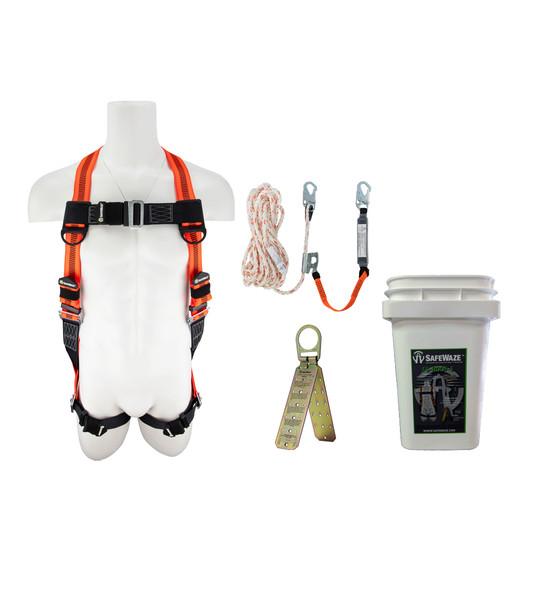 SafeWaze Roofer's Kit in a Bucket