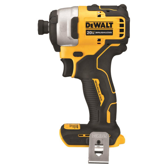 """20V MAX* Brushless Cordless Compact 1/4"""" Impact Driver (Tool Only)"""