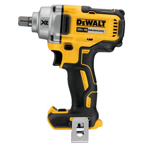 """Dewalt 20V Max XR 1/2"""" Mid-Range Cordless Impact Wrench W/Detent Pin Anvil (Tool Only)"""