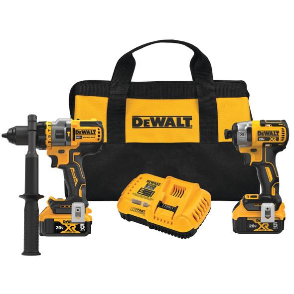 Dewalt 20V MAX Brushless 2-Tool Kit W/ Hammer Drill/Driver
