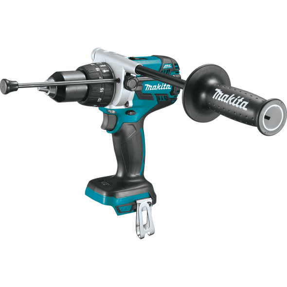 """Makita 18V LXT® Lithium‑Ion Brushless Cordless 1/2"""" Hammer Driver‑Drill, Tool Only"""