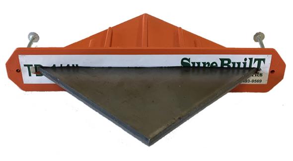 "SureBuilt Steel Plate for Diamond Dowel - 1/4"" x 4-1/2"" x 4-1/2"""