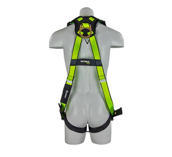 PRO Vest Harness with Grommet Legs - Back