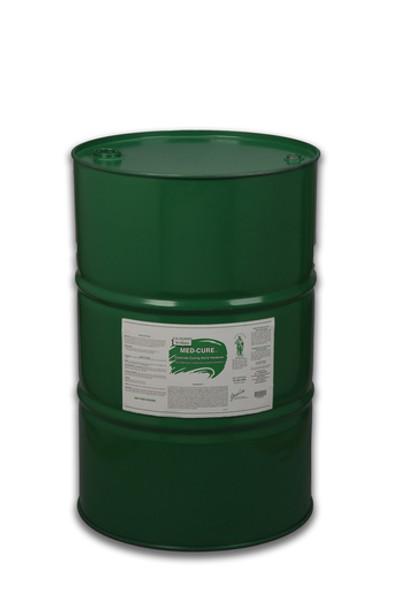 MED-CURE - Concrete Curing Agent, Hardener, & Dustproofer - 55 Gallon