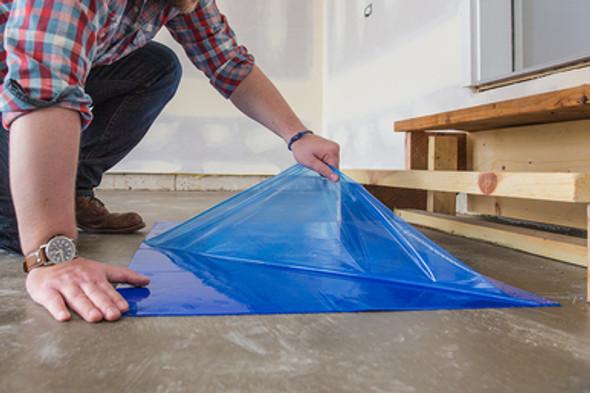 Blue Adhesive Clean Mat / Tacky Mat - Pull