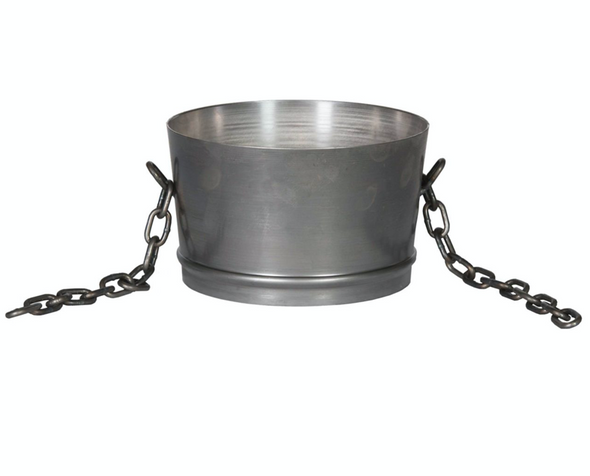 """Sika Stainless Steel Collar - 12"""" (Elephant Trunk)"""