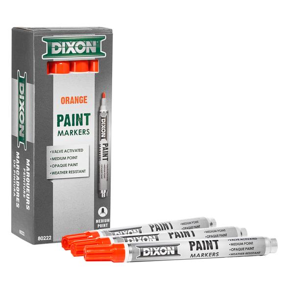 Valve Action Paint Marker - Orange