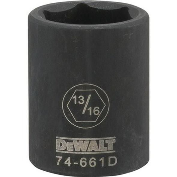 "1/2"" Drive, 6 PT Impact Socket, 13/16"""