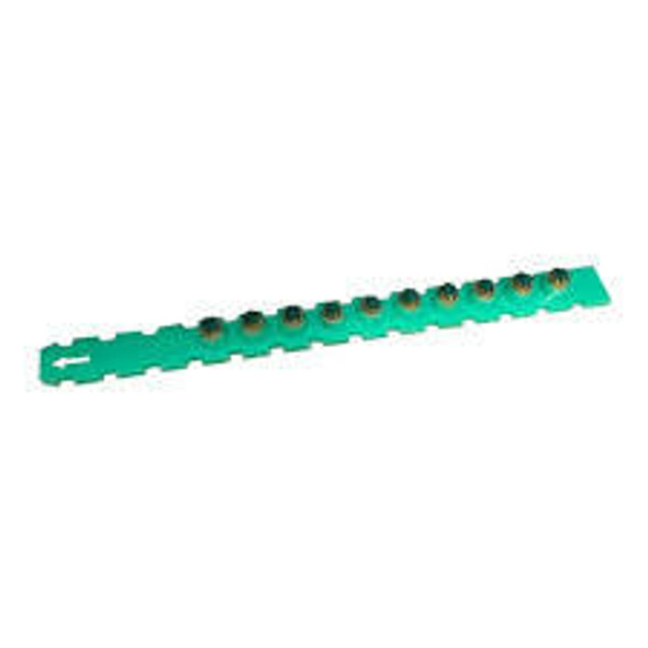 Simpson .27 Caliber Plastic Strip Loads Green