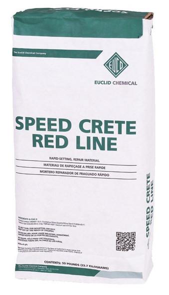 Euclid Speed Crete Red Line 50 lb