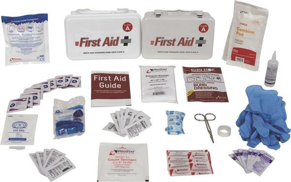 10 Unit First Aid Kit - Plastic