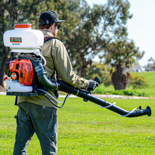 TOMAHAWK 3 HP Turbo Boosted Pest Control Backpack Fogger Duster Blower 2 Stroke for Mosquito Protection
