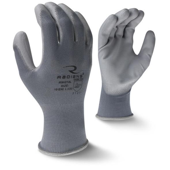 RWG14 PU Palm Coated Glove - Bottom