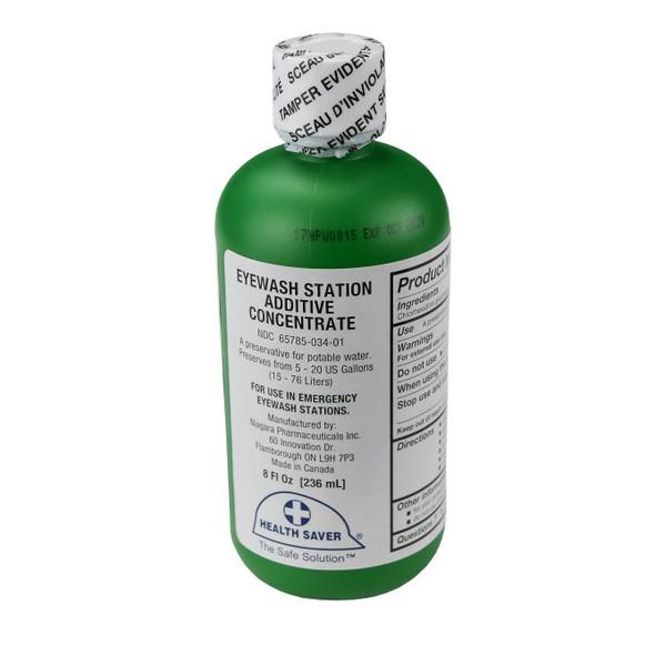 Emergency Eyewash Station Concentrate Additive - 8 oz