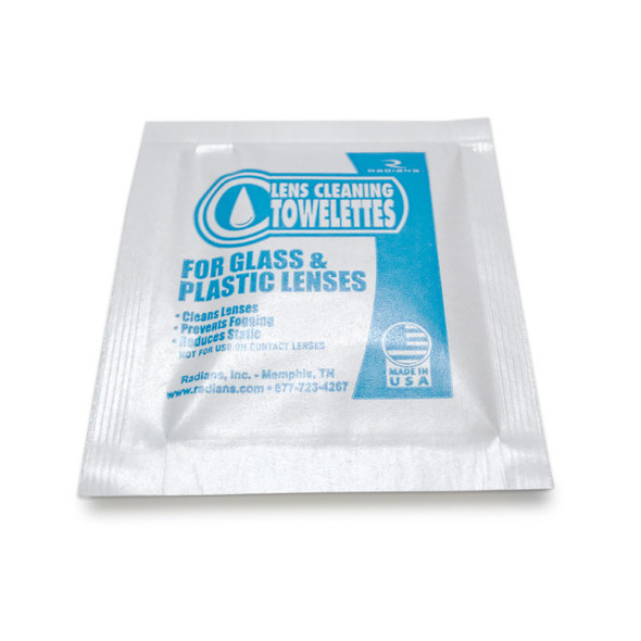 Lens Cleaning Towelettes - 100 Count - Pack