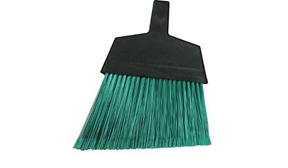 Green Flagged Plastic Angled Broom