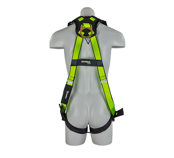 PRO Vest Harness with Grommet Legs - Back